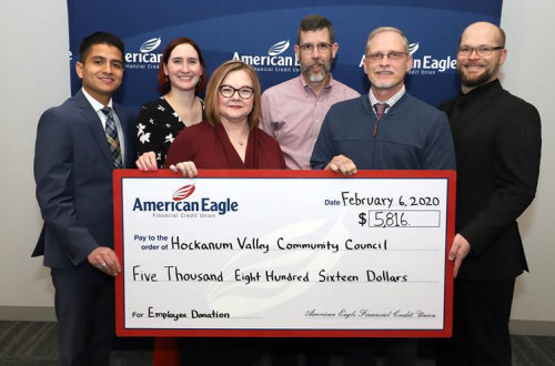American Eagle Financial Credit Union Employees Raise Over $5,800 for Charity by Wearing Jeans to Work - American Eagle Financial Credit Union Employees Raise Over $5,800 for Charity by
